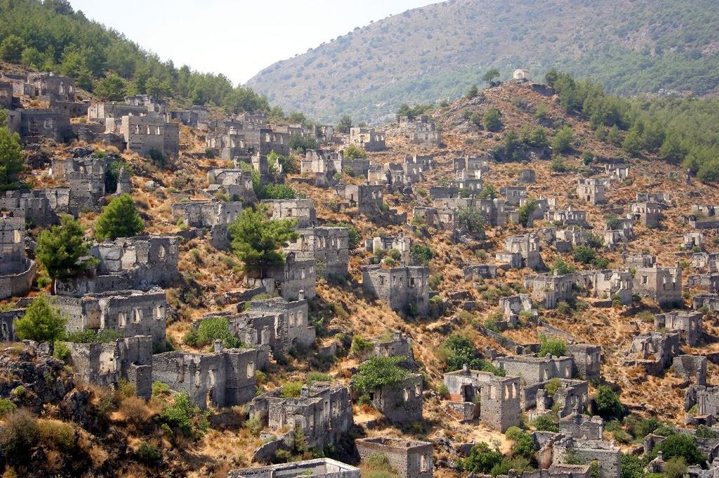 Kayakoy - The Greek Ghost Town In Turkey 26