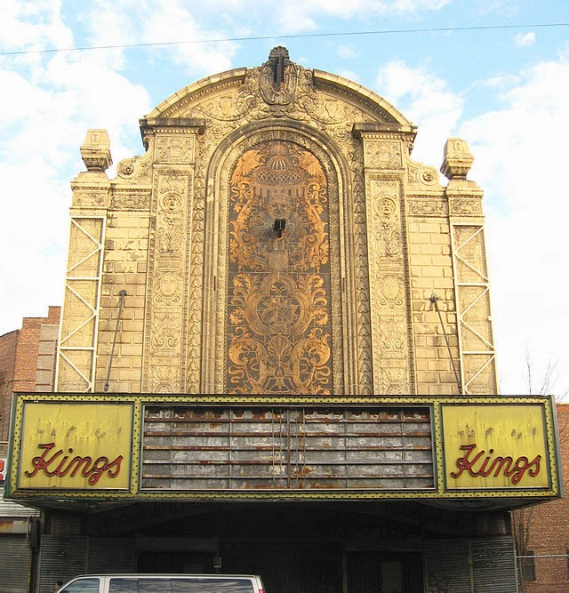 The abandoned Loew's Kings Theatre in New York 1
