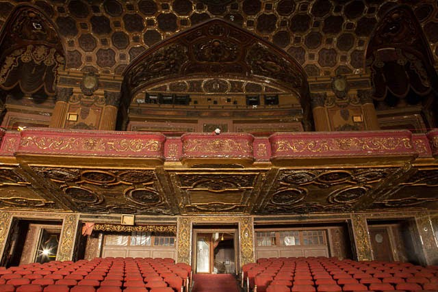 The abandoned Loew's Kings Theatre in New York 24