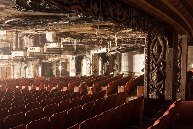 The abandoned Loew's Kings Theatre in New York 27