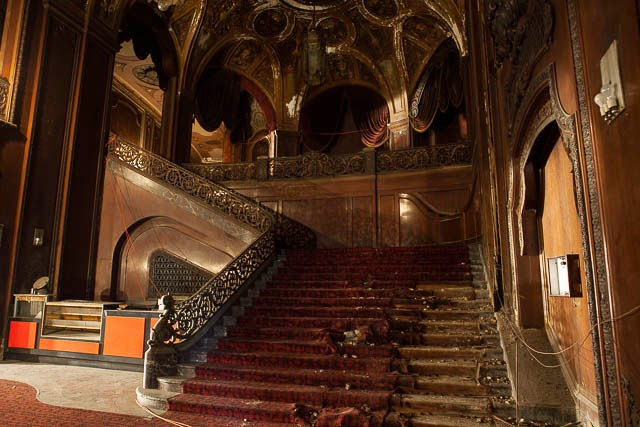The abandoned Loew's Kings Theatre in New York 30