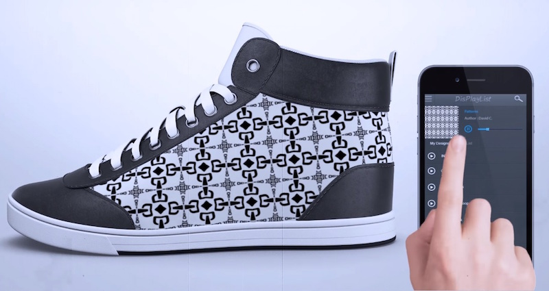 "The ""Chameleon"" Sneakers That Change Their Appearance Using Your Phone 5"
