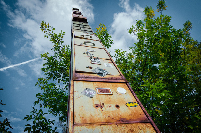 The Tallest Filing Cabinet On Earth, Vermont 2