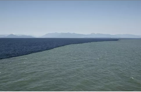 gulf of alaska where two oceans meet how