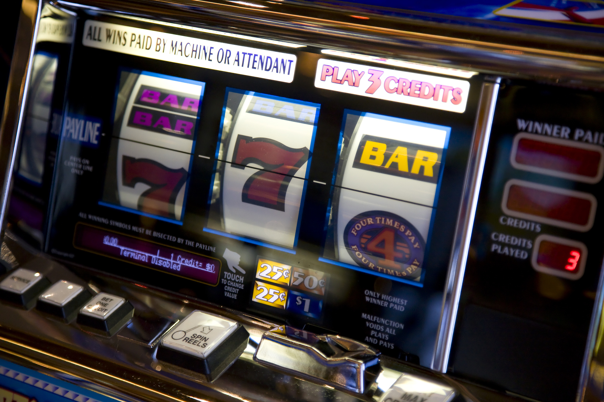 Gambling Machines Cheats